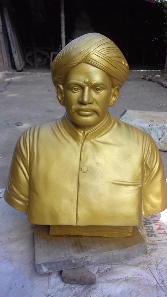 கோவில்பட்டி சைவ வெள்ளாளர் சார்பாக அய்யா வஉசி சிலை திறப்பு